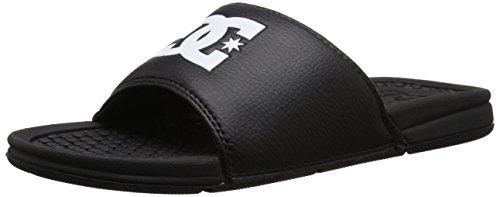 DC Men's Bolsa Slide Sandal, Black, 10 M US