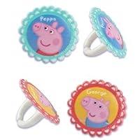 24 ~ Peppa Pig Rings ~ Designer Cake/Cupcake Topper ~ New!!!!!