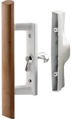 C.R. Laurence Puertas correderas de patio de vidrio determinada de la manija con cerradura para puertas internas de Viking, 3-15/16