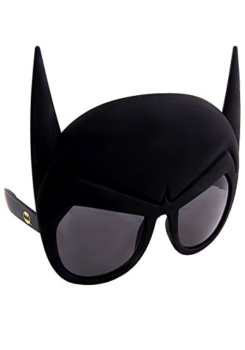Sunstaches DC Comics Batman Mask Sunglasses, Party Favors, UV400