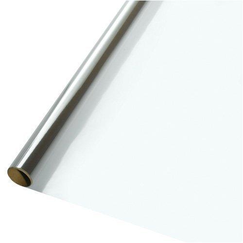 30 in. x 100 ft. Sparkle Wrap Clear Cellophane Wrap Roll 1/Pkg Pkg/25