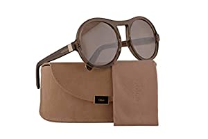 Chloe CE715S Sunglasses Turtledove w/Brown Lens 57mm 272 CE 715S