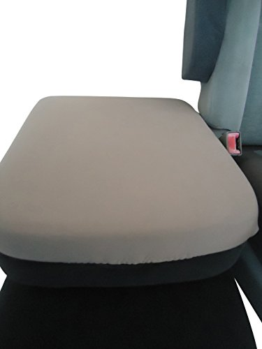 Car Console Covers Plus Made in USA Neoprene Center Armrest Console Cover Designed to fit Dodge Ram Series 2000 Gray