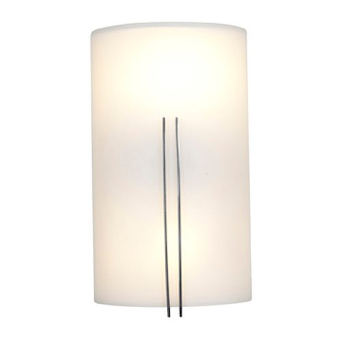 Ada Wall Washer Sconce (Access Lighting 20446-BS/WHT Prong Vanity and Wall Sconce )