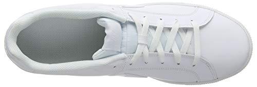 Hombre para Court NIKE 111 Blanco White White Zapatillas Royale IZttdgx