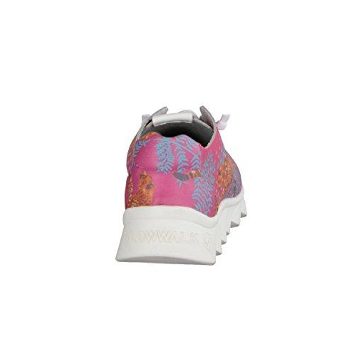 Nibiru 10514W- Damenschuhe Sneaker, Mehrfarbig, Leder (Piel Crust) Slowwalk