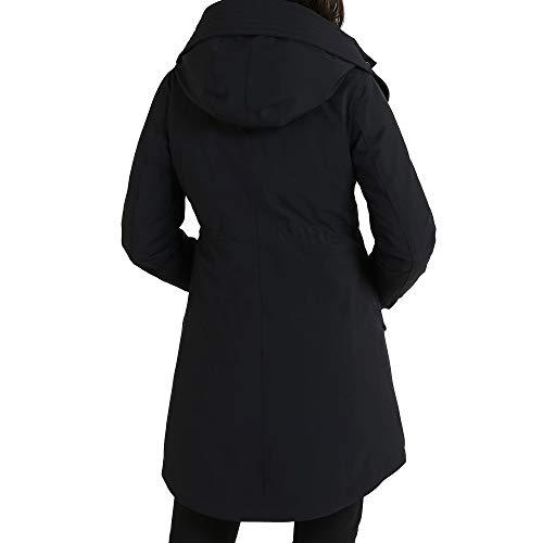 Wwcps2484st02100 Noir Polyamide Blouson Woolrich Femme 75EqwUEB