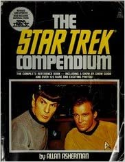 Book Star Trek Compendium - Complete Reference Book - Including A Show-by-show Guide & Over 125 Rare & Exciting Photos!