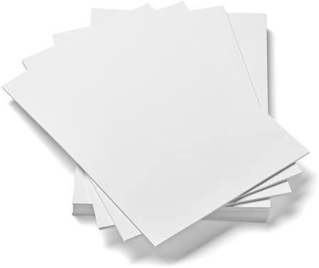 House of Card & Paper A4 300 gsm Card - White (Pack of 50 Sheets ...