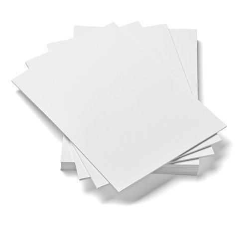 HCP, cartoncino in formato A4, 250g/m², colore: bianco, confezione da 100fogli House of Card & Paper HCP177