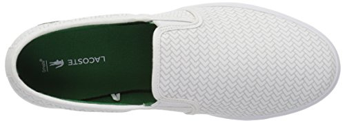 Canvas Women Sneaker Lacoste White Gazon RqIUdag