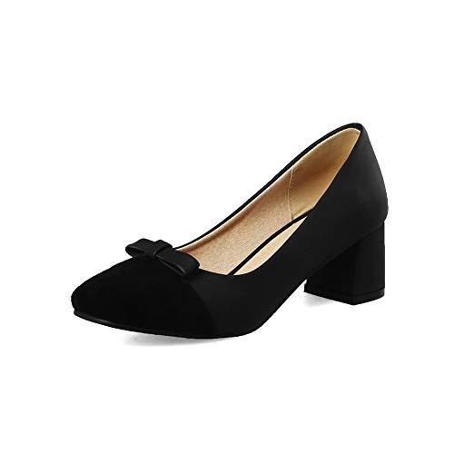Femme Noir EU 36 Sandales BalaMasa 5 Compensées APL10538 Noir q4UpnwtC