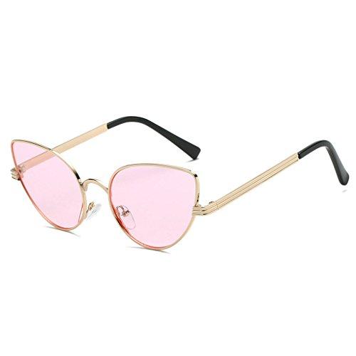 de Retro Designer 3 UV400 Metal Kimruida Marco Gafas Gato Ojo Conducción Marca 4 Gafas Mujer Sol Zg7t8x