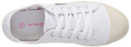 Les Tropéziennes par M Belarbi Fidji, Damen Ballerinas Weiß (Blanc)