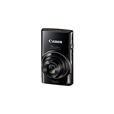 Canon PowerShot ELPH 360 Digital Camera w/ 12x Optical Zoom and Image Stabilization Wi-Fi & NFC Enabled (Black)