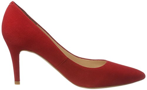 Unisa Tacón Rojo Tegar red Mujer De Zapatos ks Para rOUqr