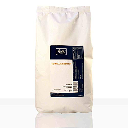 Melitta Cappuccino Topping Milchpulver 1kg Instant für Automaten