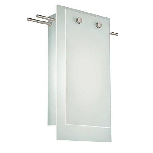 13 Sonneman Suspended Glass - Sonneman 3210-13LED LED Wall Sconce, Silver