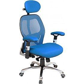 Ergo Tek Mesh fice Chair Blue