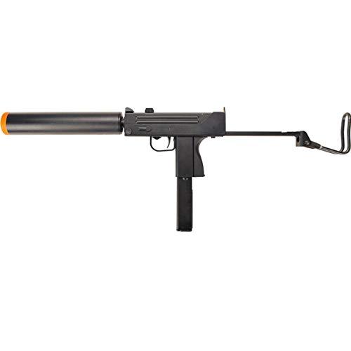 AirSoft Mac 11 HGA-2033 Uzi Green Gas Blowback Realistic SMG Metal GBB Gun