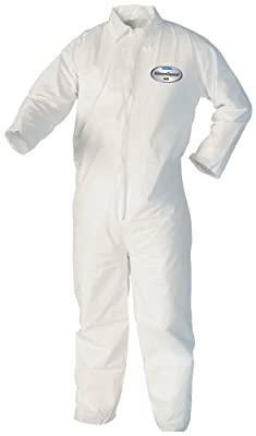 Kimberly-Clark KleenGuard A40 Liquid/Particle Protection Coverall (25 Units)