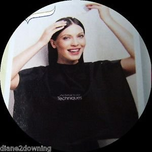 Schulter Schutz Cape Für Haare Färben Schneiden Waschen Styling