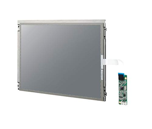 (DMC Taiwan) 12.1 inches SVGA and XGA Industrial Display Kit with Resistive and Projected Capacitive Touch - Svga Lcd 12.1 Display