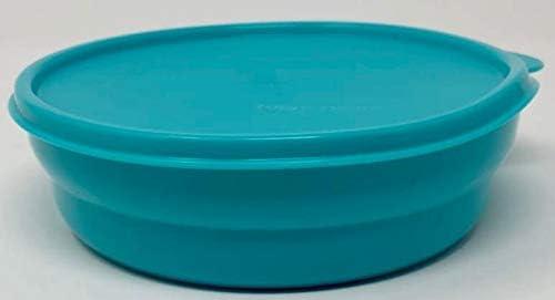 Turquesa y Amarillo 375 ml, antigoteo, con Tapa Color Rojo Recipiente herm/ético con Tapa Tupperware Hitparade