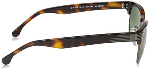 Adulto de Sol Gunmetal Lozza Shiny Gafas Unisex Verde UI1xvT