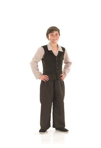 1920s Children Fashions: Girls, Boys, Baby Costumes Victorian Urchin Boy Childs Fancy Dress Costume - M 50inch Height $27.99 AT vintagedancer.com