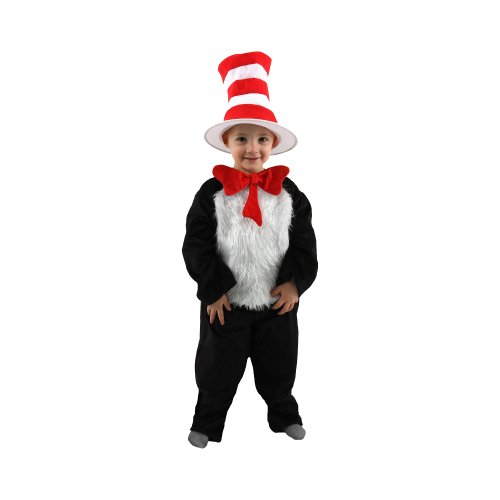 Cat in the Hat Deluxe Costume - Small