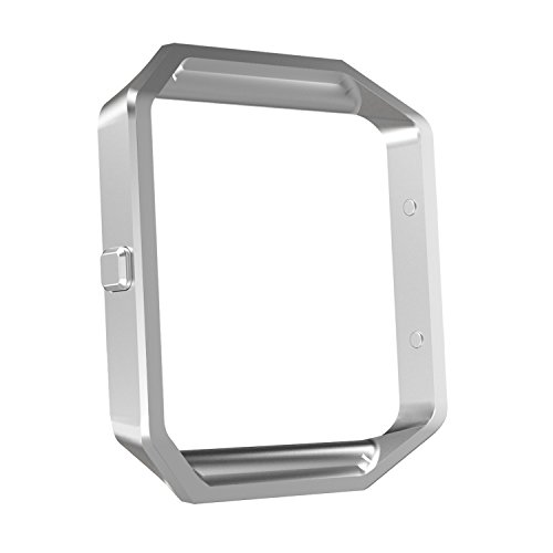 MoKo Fitbit Blaze Band Frame, Stainless Steel Replacement Metal Frame Housing for Fitbit Blaze Smart Watch - - Housing Frame Faceplate