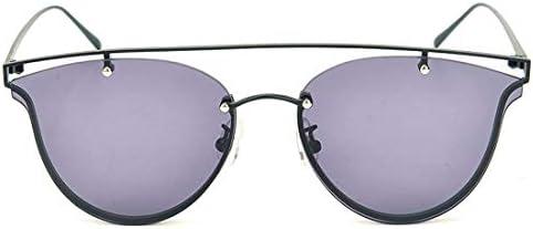 380038a0db LBY Gafas De Sol Jelly Classic Color para Hombre Y Mujer con Gafas De Sol  Gafas de Sol para Mujer (Color : Black Frame/Gray Lens)