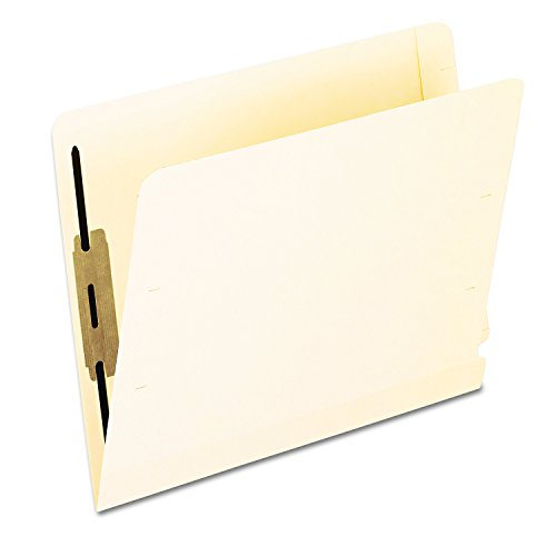 Pendaflex 13160 Laminated Spine End Tab Folder with 2 Fastener, 11 pt Manila, Letter (Box of 50)
