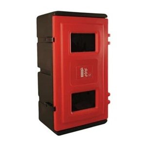 Fire Extinguisher Cabinet Or Lb Amazoncom - Outdoor fire extinguisher cabinets