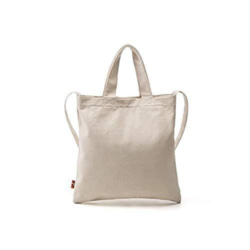 GWQGZ Sac Mode Femmes À Mode pour Shopping Simple White Sac Bandoulière Bleu Sac À La Unique Casual Toile en rrYdqI