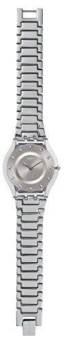 Swatch Skin Silver Drawer Silver Dial Stainless Steel Ladies Watch SFK393G