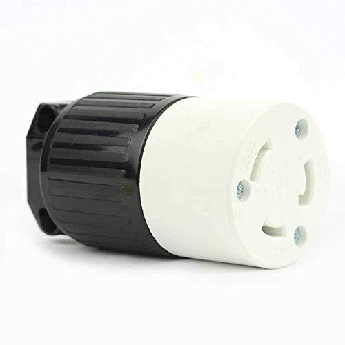 Superior Electric YGA024F Twist Lock Electrical Receptacle 3 Wire, 30 Amps, 125V, NEMA L5-30R (2)