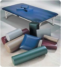 Performa-Postioning-Bolsters-Cylinder-size-8-x-24-20-x-61cm-Color-Dove-Green-Model-A37074DG