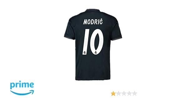 Amazon Com Real Madrid Luka Modric 10 Soccer Jersey Shirt Mens 2018 4d07d5a35