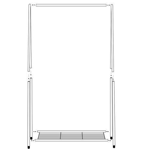 Amazon.com: aidelai perchero un tipo estante de secado ...