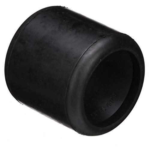 (Seachoice 56350 Molded Wobble Roller - Black Rubber - 4-1/4 Inches Wide - 3/4 Inch ID Hole)
