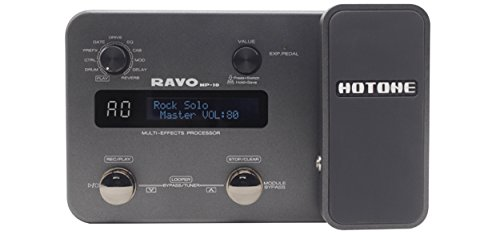Hotone Ravo MP10 Multi-Effects Guitar Processor with Audio Interface