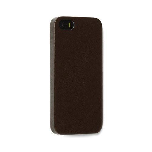 Zenus Avoc Milano Spiga Slim Case/Tasche Schwarze Schokolade für Apple iPhone 5/5S