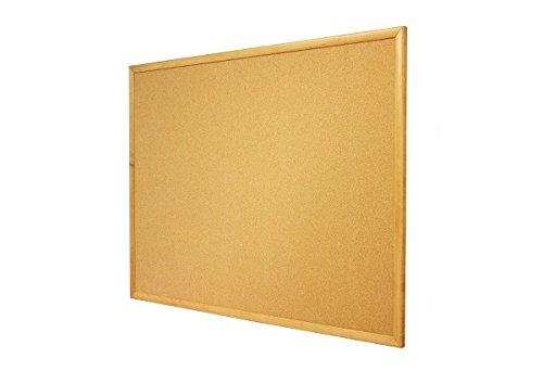 5x3 Oak Finish Bulletin Board by Quartet