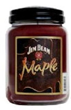 Candleberry Maple Jim Beam 26 oz Scented Jar Candle by by Candleberry