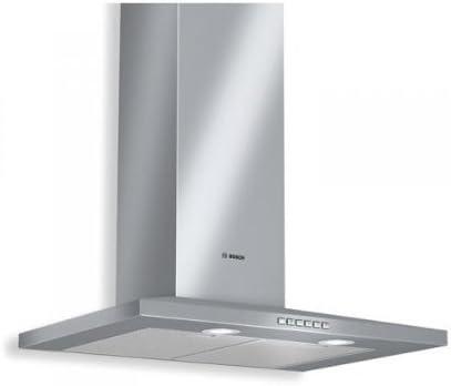 Bosch DWW07D650 - Campana (Canalizado/Recirculación, 680 m³/h, 57 Db, Montado en pared, Halógeno, 290 Lux) Acero inoxidable: Amazon.es: Hogar