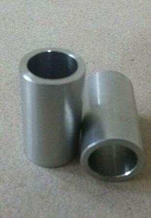 SPACER BUSHING 1//2 ID X 7//8 OD PACK OF 10 ZINC PLATED STEEL