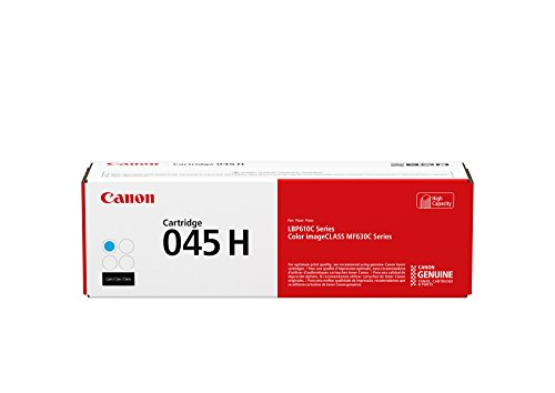 Canon Original 045 Toner Cartridge - High Yield Cyan