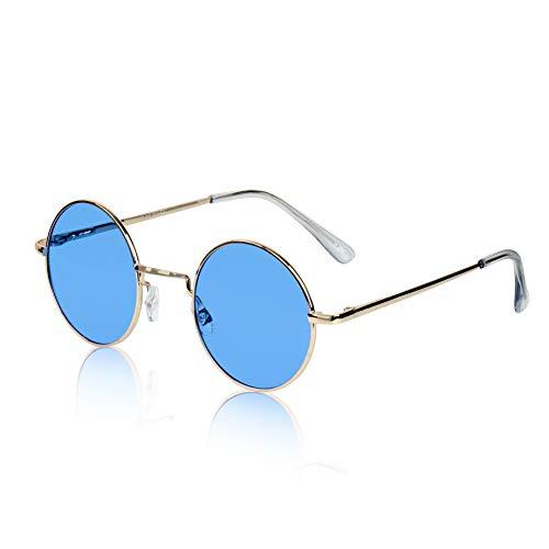 John Lennon Sunglasses Style Ozzy Osbourne Quavo Eye Sun Glasses Shades ()